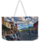 Red  Lodge Motorcycle Rally Weekender Tote Bag