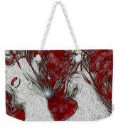 Red Love Weekender Tote Bag