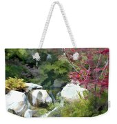 Red Maple Above The Falls Weekender Tote Bag