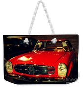 Red Mercedes Sl Weekender Tote Bag