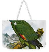 Red-necked Amazon Parrot Weekender Tote Bag