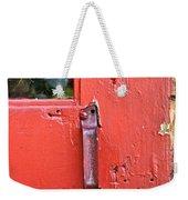 Red Of Course Weekender Tote Bag