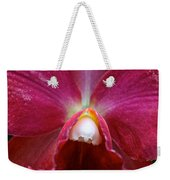 Red Orchid Weekender Tote Bag