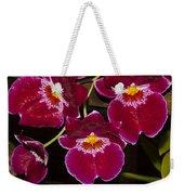Red Orchids Weekender Tote Bag