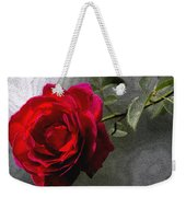 Red Paris Rose Weekender Tote Bag