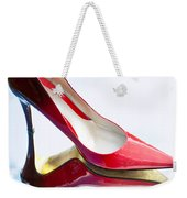 Red Patent Stilettos Weekender Tote Bag