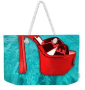 Red Platform Divers Weekender Tote Bag