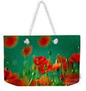 Red Poppy Flowers 07 Weekender Tote Bag