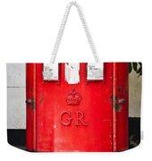 Red Post Box Weekender Tote Bag