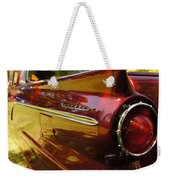 Red Ranchero And Round Taillight Weekender Tote Bag