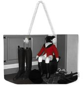 Red Riding Jacket Weekender Tote Bag