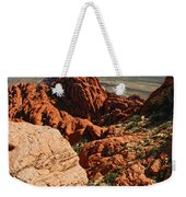 Red Rock Canyon At The Tank Weekender Tote Bag