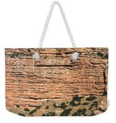 Red Rock Cliffs Along The Hood River Weekender Tote Bag