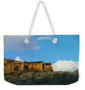 Red Rock In New Mexico Weekender Tote Bag