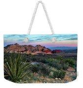 Red Rock Sunset II Weekender Tote Bag