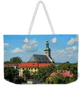 Red Roofed Wonders Weekender Tote Bag