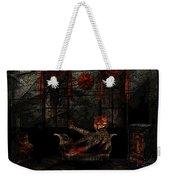 Red Room Weekender Tote Bag