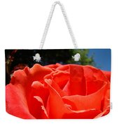 Red Rose Flower Fine Art Prints Roses Garden Weekender Tote Bag