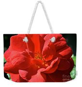 Red Rose Summer Weekender Tote Bag