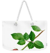 Red Rose Thank You Card Weekender Tote Bag