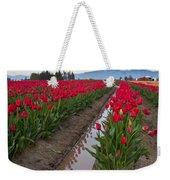 Red Rows Weekender Tote Bag