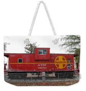 Red Sante Fe Caboose Train . 7d10328 Weekender Tote Bag