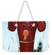 Red Scarecrow Weekender Tote Bag