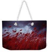 Red Sea Oats Blow In The Wind Weekender Tote Bag