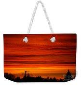 Red Skies At Night Weekender Tote Bag