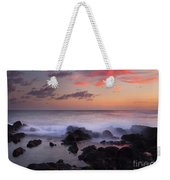 Red Sky Paradise Weekender Tote Bag