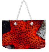Red Starfish In Raja Ampat, Indonesia Weekender Tote Bag