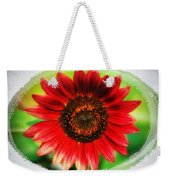 Red Sun Flower Weekender Tote Bag