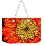 Red Sunflower Iv Weekender Tote Bag