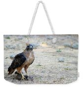 Red Tailed Hawk Catch Weekender Tote Bag