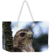 Red-tailed Hawk - Hawkeye Weekender Tote Bag