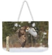 Red Tailed Take-off Weekender Tote Bag