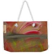 Red Tide White Weekender Tote Bag
