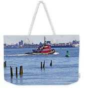 Red Tug One Weekender Tote Bag