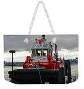 Red Tug Weekender Tote Bag