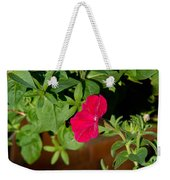 Red Velvet Petunia Weekender Tote Bag