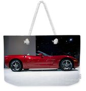 Red Vette Weekender Tote Bag
