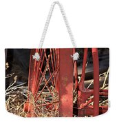 Red Wheel Weekender Tote Bag