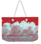 Red White And Blue Farm Weekender Tote Bag