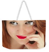 Red White And Blue II Weekender Tote Bag