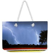 Red White And Blue Weekender Tote Bag by James BO  Insogna