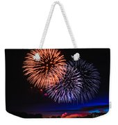 Red White And Blue Weekender Tote Bag by Robert Bales
