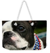 Red White And Boston Weekender Tote Bag