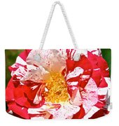 Red White And Yellow Weekender Tote Bag