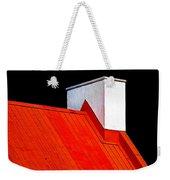 Red White Black Weekender Tote Bag
