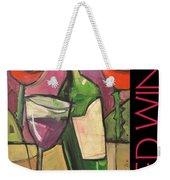 Red Wine Poster Weekender Tote Bag